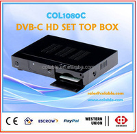 mpeg4 hd decoder for cable tv,digital tv mpeg4 decoders COL1080C