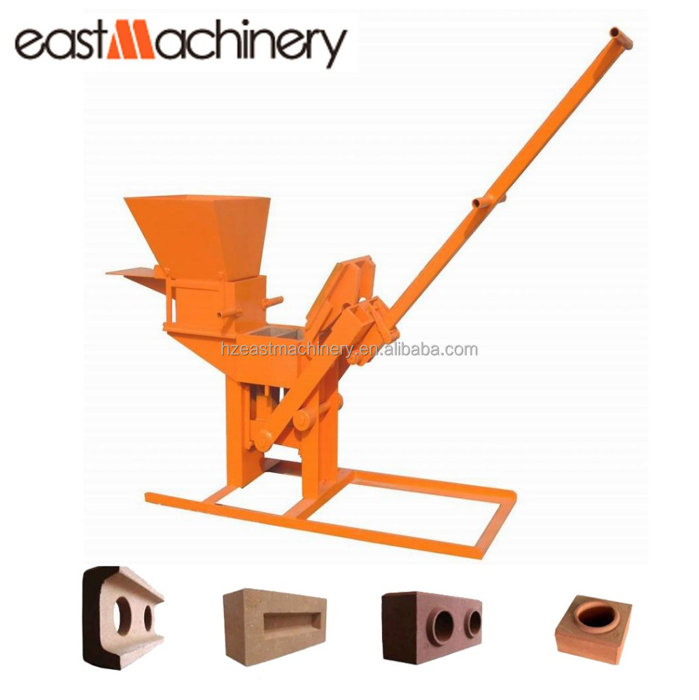 Small mud interlocking block machine marble block cutting machine interlocking brick machine