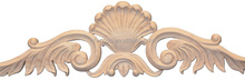 Hot selling classic beech wood appliques and onlays or embossed carving