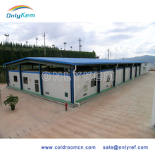 Large refrigeration units cold room warehouse for vegetables
