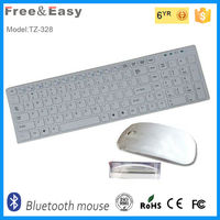 Partable bluetooth mini keyboard and mouse combo supplier
