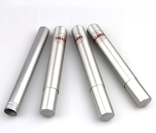 Painted wholesale aluminium cigar tube uk