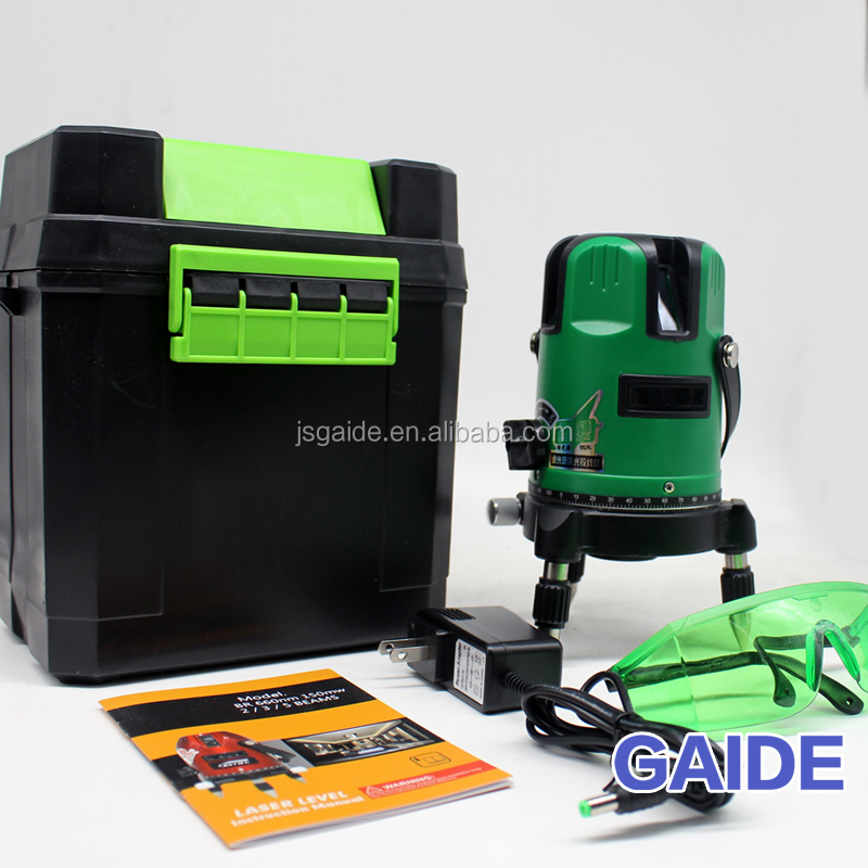 High precision laser level 532nm equipment for decoration OEM