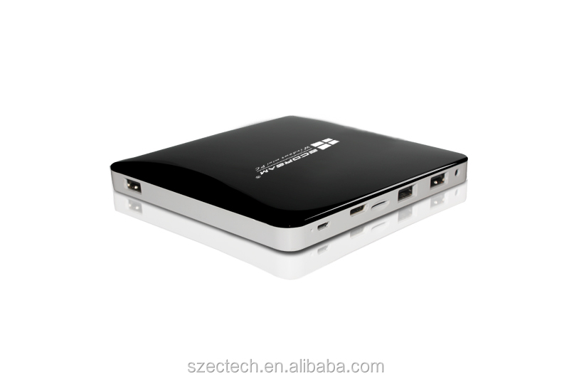 all in one Windows8.1 tablet computer Mini PC with Intel Z3735F Quad Core 2GB RAM 32GB ROM wih bing system
