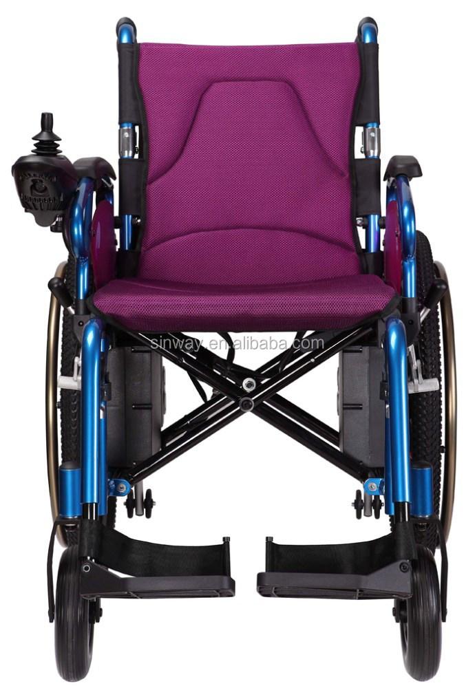 Manual Assist Lightweight Power Wheelchair With Cheap