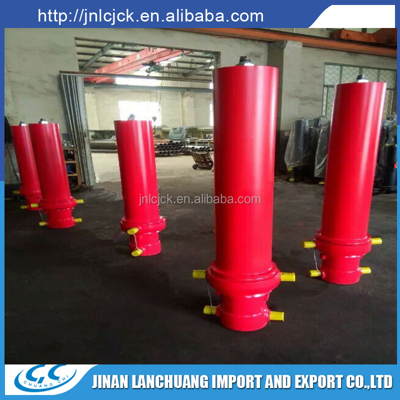 professional strong hydraulic telescopic cylinder for dump truck