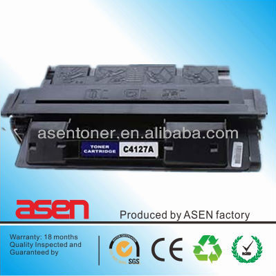 Compatible for HP laserjet printer cartridge C4127A