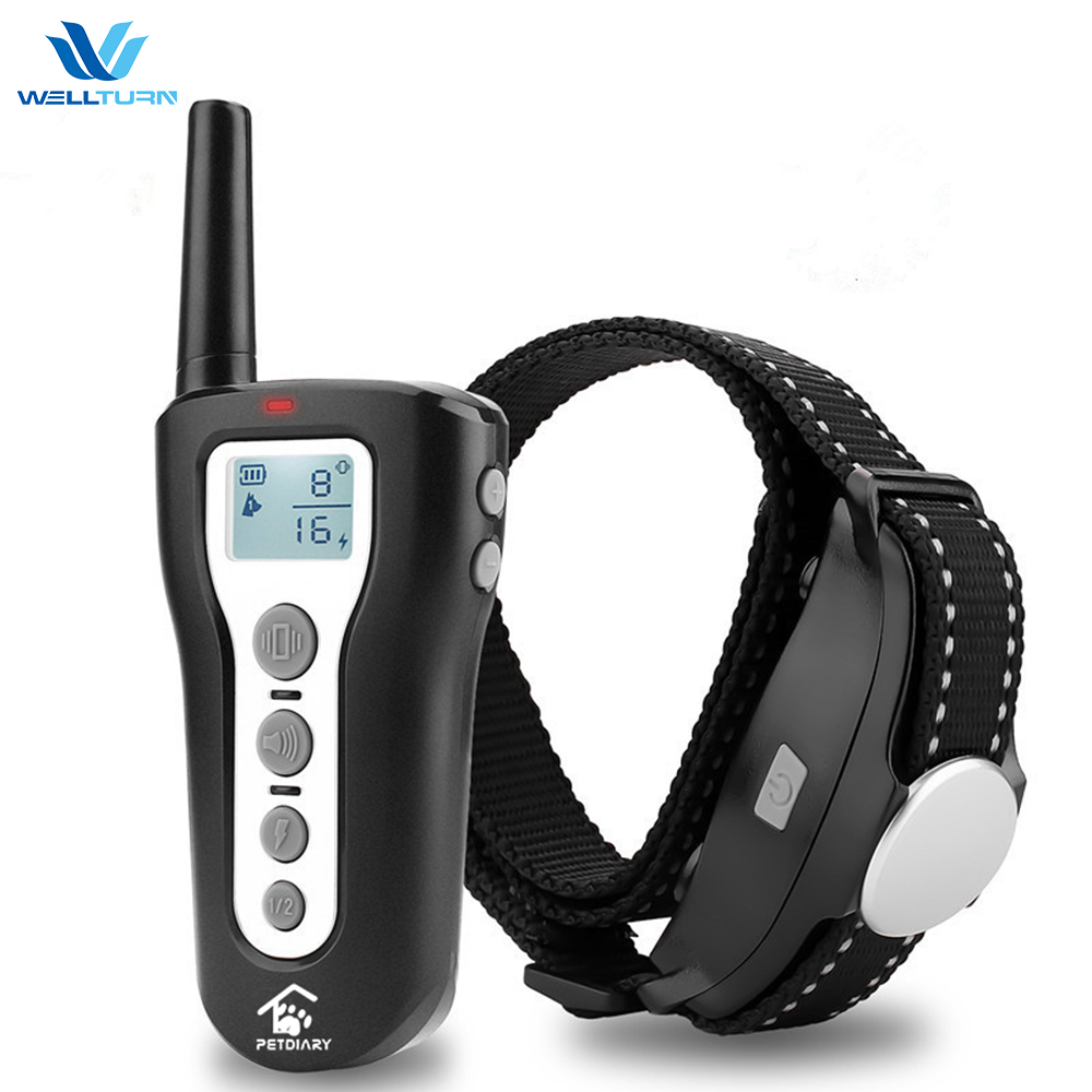 Amazon Top Seller Automatic Anti Bark Dog Training Collar with Remote Control