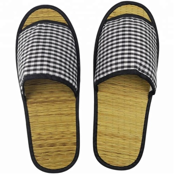Wholesale price hotel straw slippers