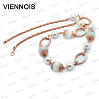 Viennois New products choker necklace with opal bead