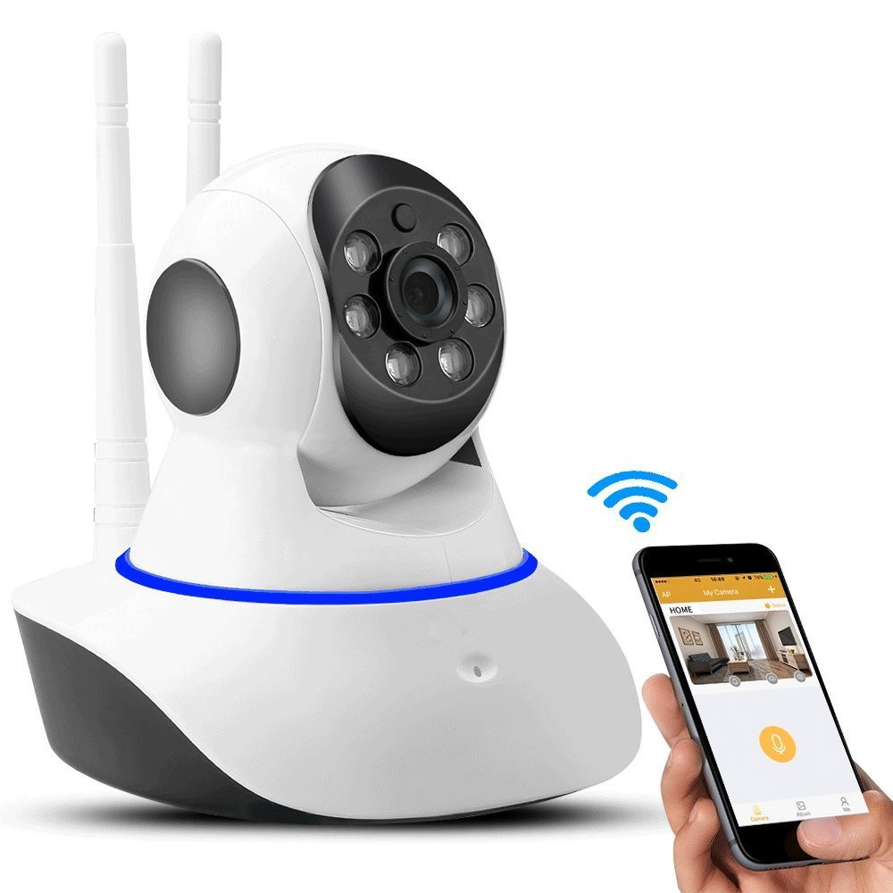 wireless CCTV wifi ip camera audio baby monitor