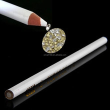 Yimart White Wax Pencil Rhinestones Picker Gems Crafts Crystals Jewellery Nail Art Pen