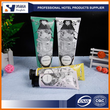 Promotional cheap customized branded logo hotel toiletries