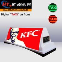 Advertising equipment taxi top roof advert light box