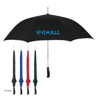 Auto Open Advertising Promotion Straight Umbrella