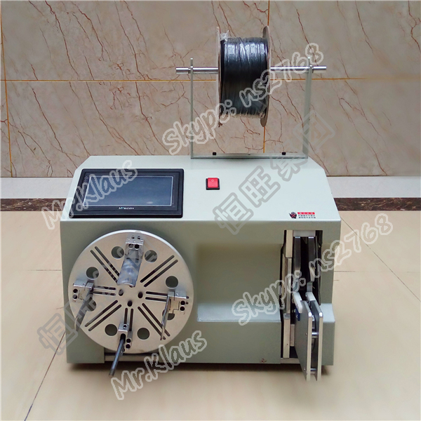 220V Wire Coil Winding Machine/Automatic Cable Wire Twist Tie Machine