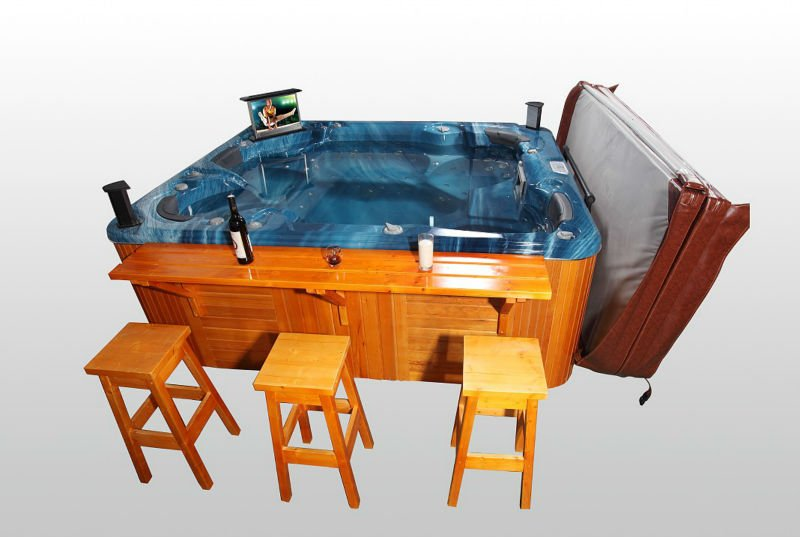Luxury Acrylic Outdoor Hot Tub Spa for Jacuzzi