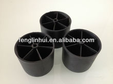60*60mm plastic sofa bed cabinet leg M010