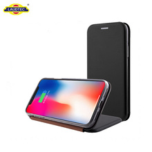High Quality Full Cover For Iphone X Stand Fip Leather Case