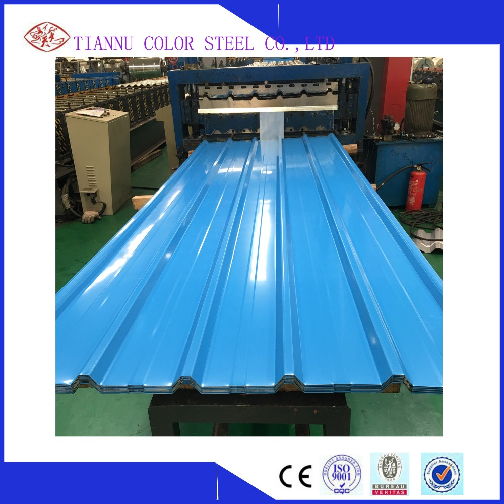 China Manufacturing ppgi/ppgl sheet in coil for metal roofing tile