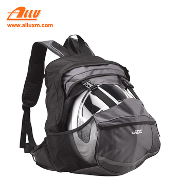 New product motorcycle helmet storage backpack with a helmet holder