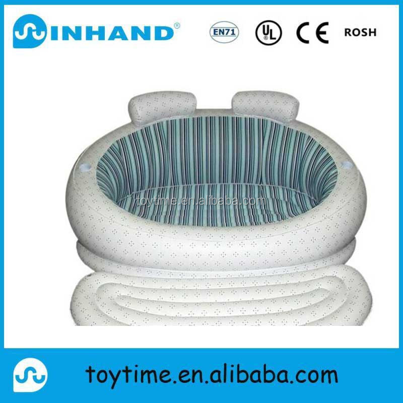 comfortable inflatable white air sofa bed for leisure