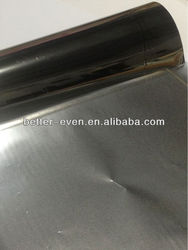 Platinum colour textile Hot stamping foil for textile,pu,pvc, genuine leather.