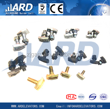 METAL CLIP ,T1 CLIPS, ELEVATOR GUIDE RAIL PARTS