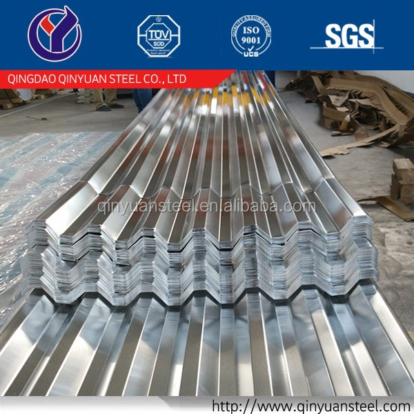 20 gauge galvanized corrugated steel roofing sheet, zinc corrugated galvanized steel sheet trading