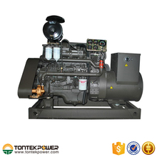 High RPM Marine Diesel Genset with Rechargeable Battery 90kW