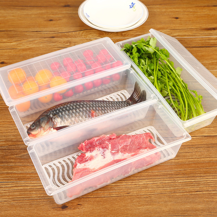 New coming hot sale promotion clear PP plastic boxes for frozen meat