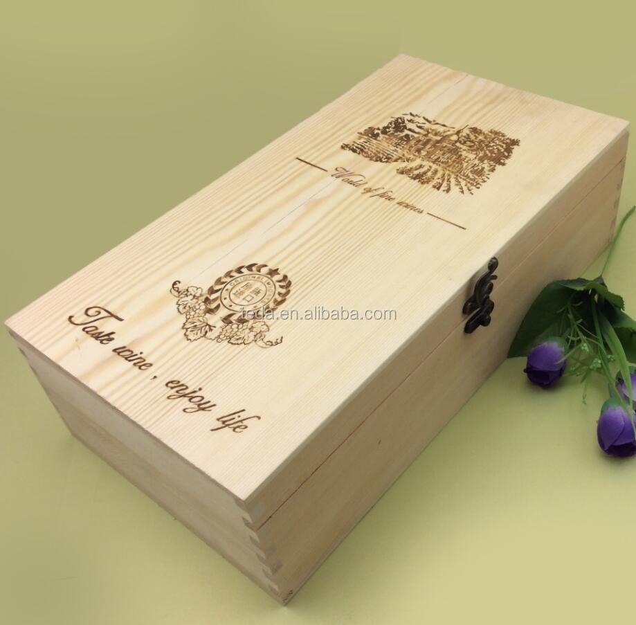 Pine wood double lid wedding wine boxQQ20170814104435.jpg