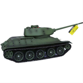 rt-39091 New 1/16 2.4Ghz RC Russian T-34/85 Tank With BB Sound & Smoke