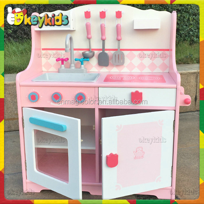 2016 wholesale wooden big kitchen set toy role play wooden for Big kitchen set