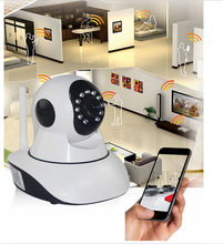 2017 Alibaba hot sale ip camera support Two way talk wireless video baby monitor 2.4GHz with IR Nightvision Temperature