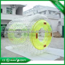 bright color giant water absorb rollercolored inflatable water roller