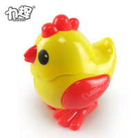 Creative Festival Easter clockwork wind up small plastic toy chicken for kids
