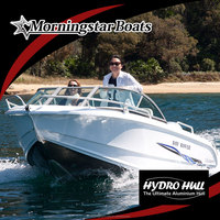 17ft aluminum racing runabout boat