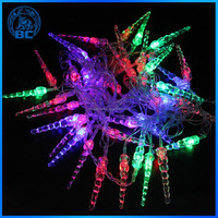 2015 New Product 120V 220V LED Mini String Lights Pink For Large Outdoor Christmas