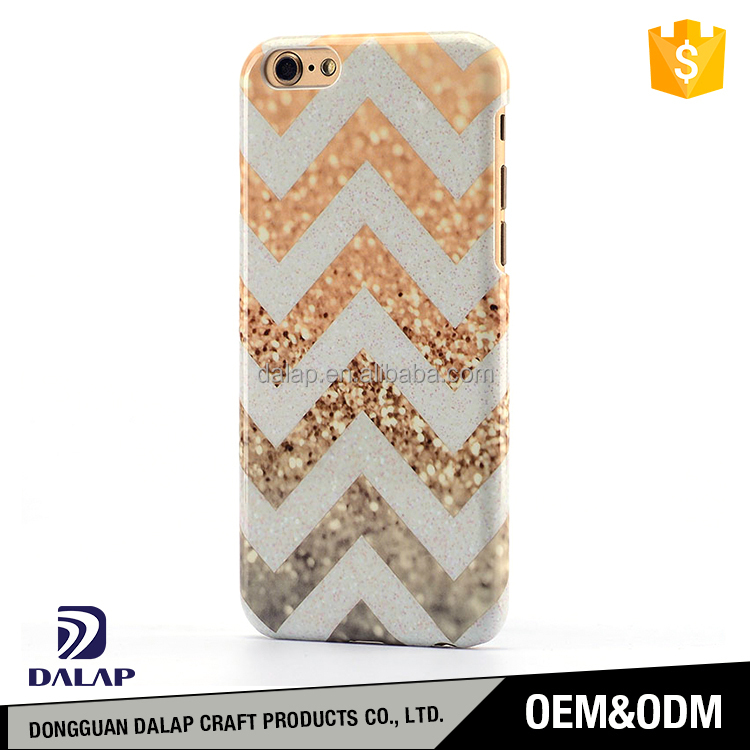 oem glitter case pc phone case for iphone 6