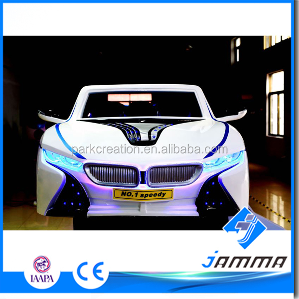 3DOF 6Seats Electric system 9D VR Car Cinema Attractive appearance and high configuration