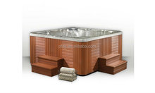Corner Drain Location and Massage Function 7 person inflatable hot tub