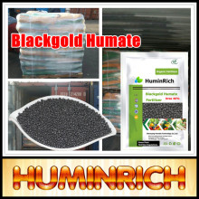 Huminrich Regulate Plant Fast Growing Agriculture Nitrogen Fertilizer Black Urea