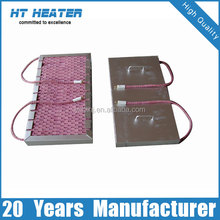 post welding heat treatment electric flexible ceramic mat heater