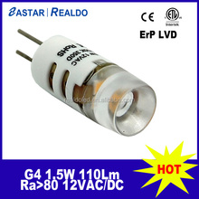 Manufacturer 2015 new 12V 1.5W G4 bulb with CE RoHS