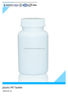 Medicine pill plastic bottle with safe cap,white color,volume 60cc to 3000cc
