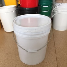 20L For Oil Lubricants American Stytle Plastic with lid, with pour spout, with steel handle