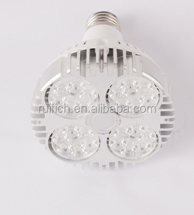 E27 par30 35w 24leds 4500k 85-265V 3000Lm par 30 led spotlight ceiling down light for LED tracking Lamp