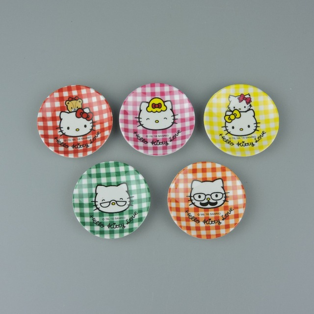 wholesale melamine kids lunch plate cartoon dishes cheap melamine plate kids plastic food tray Eco-friendly Bamboo fiber