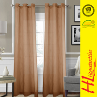 low MOQ wholesale ready made elegant valance curtain
